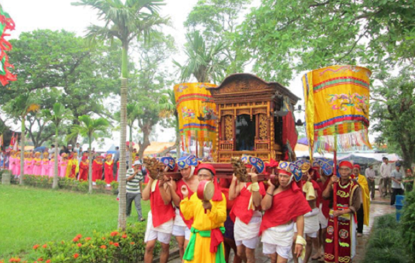 Lễ Hội Rước Kiệu Chùa Keo