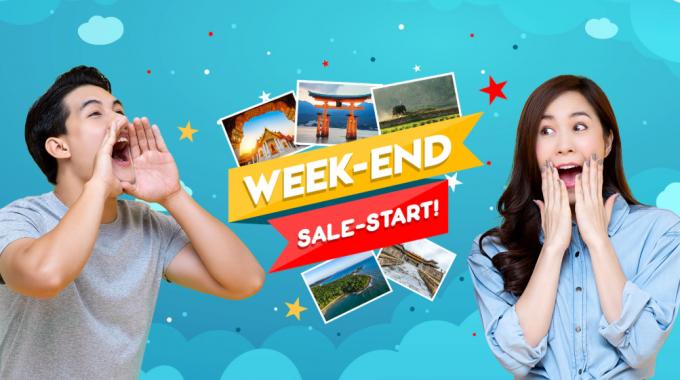 Chương Trình Sale Start Week-End Vietnam Airline